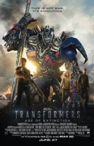 Transformers Age of extinction.